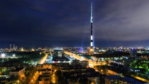 Ostankino Tower 奧斯坦金諾電視塔