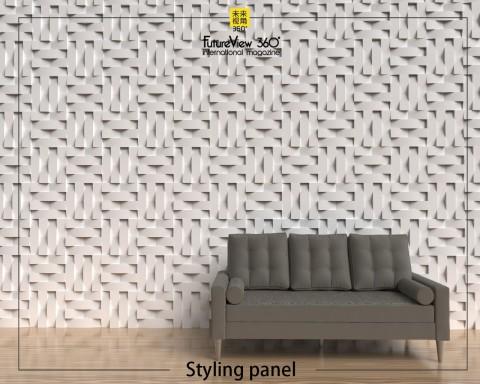 Curtain panel FV360_05 造型平板
