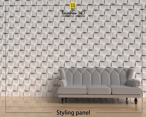 Curtain panel FV360_04 造型平板