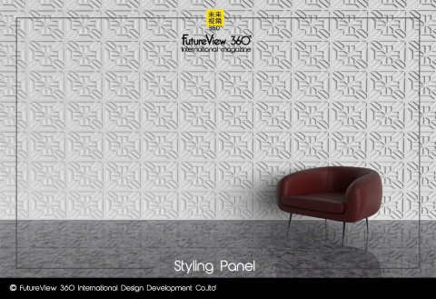 Curtain panel FV360_11 造型平板