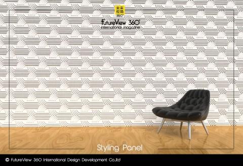 Curtain panel FV360_12 造型平板
