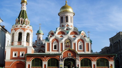 Kazan Cathedral, Moscow 喀山大教堂,莫斯科