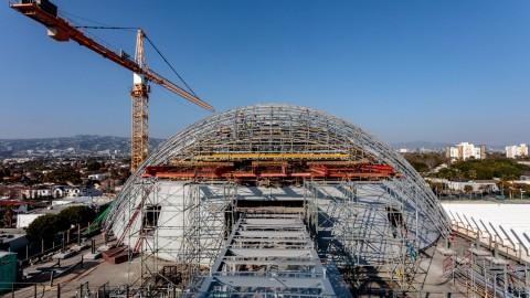 Renzo Piano's Academy Museum Nears Completion in Los Angeles 倫佐皮亞諾的學院博物館即將在洛杉磯完工