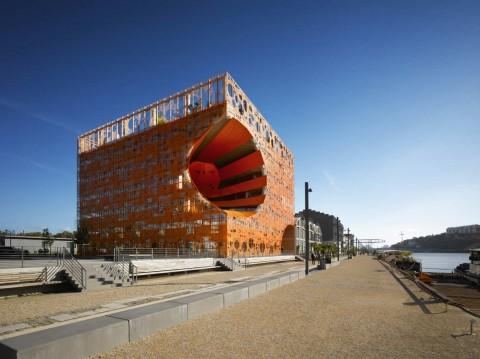 The Orange Cube 橙色立方體