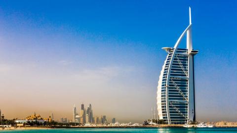 Burj Al Arab  卓美亞帆船飯店