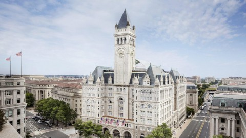 Donald Trump's New Hotel 川普華盛頓飯店
