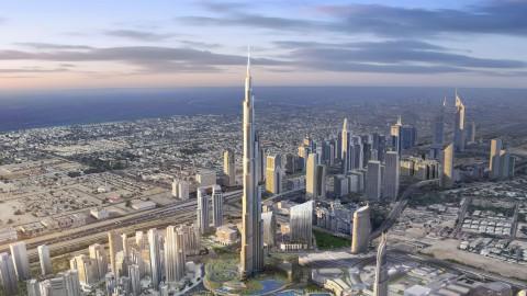 The Burj Khalifa 哈里發塔