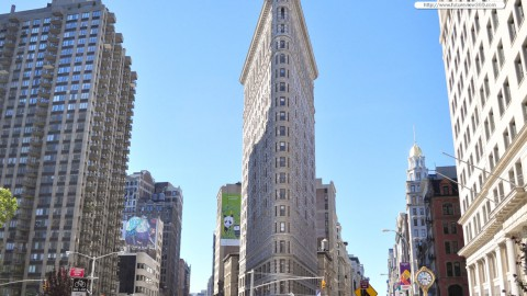 The Flatiron Building 熨斗大廈