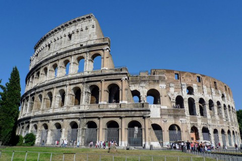 The Rome Colosseum 羅馬競技場