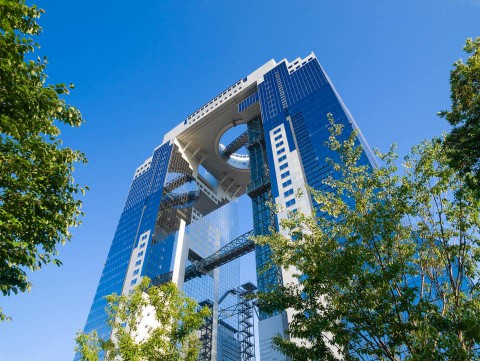 Umeda Sky Building  大阪梅田藍天大廈