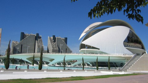 Valencia City Of Arts AndSciences 瓦倫西亞藝術科學城