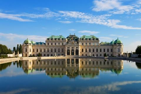 Belvedere Palace Vienna 美景宮
