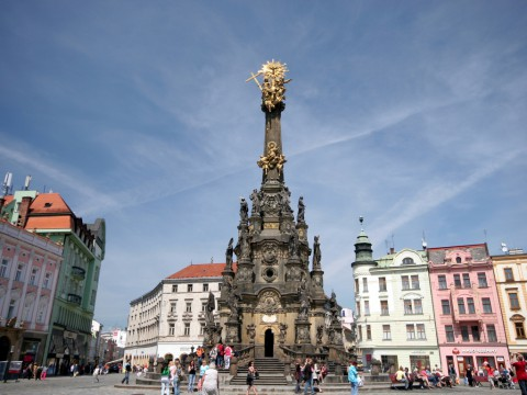 Holy Trinity Column Olomouc 奧洛穆茨聖三柱