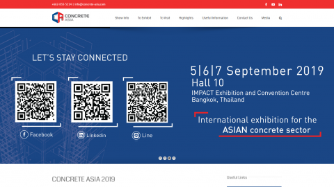 2019 Asia (Thailand) Building Management Exhibition 2019 亞洲(泰國)建築樓宇管理展覽會