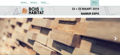2019 Namur International Wooden Building and New Energy Exhibition, BOIS & HABITAT  2019比利時那慕爾國際木製建築和新能源展覽會BOIS & HABITAT