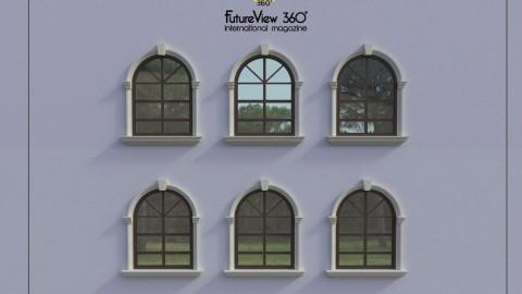 Window frame Corbel Windowsill  窗框枕梁窗台