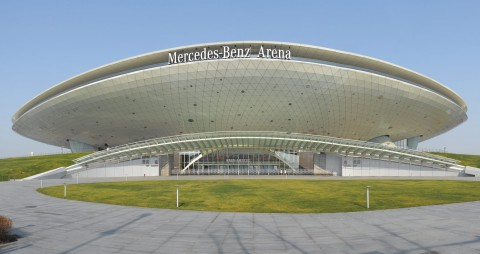 Mercedes-Benz Arena (Shanghai) 梅賽德斯 – 奔馳文化中心