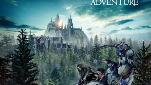 "Islands of Adventure Harry Potter Wizarding World : ""Hagrid's Magical Creatures Motorbike Adventure"" Roller Coaster Will Open on June 13 !冒險島嶼哈利波特巫師世界:""海格的神奇生物摩托車冒險""過山車將於6月13日開放!"