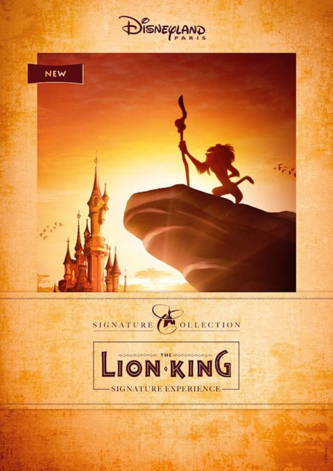 Disneyland Paris Launch The Lion King Signature Experience 巴黎迪斯尼樂園推出獅子王簽名體驗