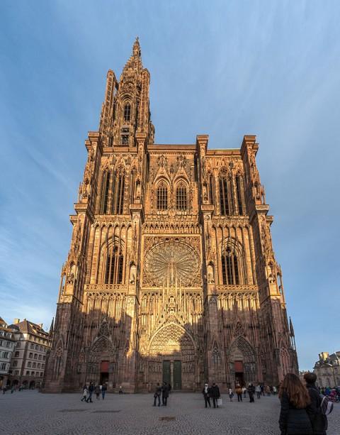 Strasbourg cathedral 斯特拉斯堡主教座堂