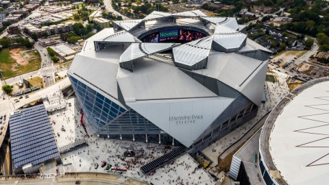 Video: Mercedes-Benz Stadium rated most sustainable in the world 視頻:梅賽德斯 – 奔馳體育場被評為世界上最具可持續性的體育場