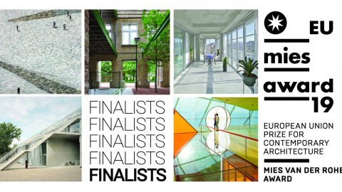 5 Projects Shortlisted for 2019 EU Mies Prize for Contemporary Architecture 5個項目入圍2019年歐盟密斯當代建築獎