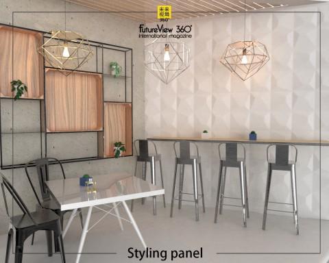Curtain panel FV360_01 造型平板