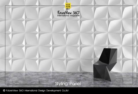 Curtain panel FV360_13 造型平板