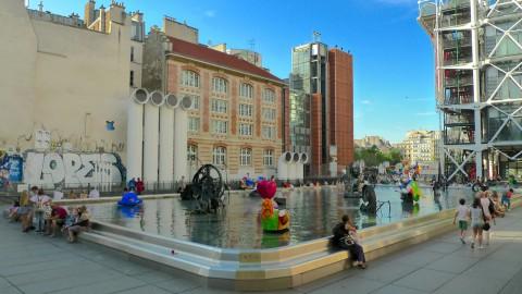 Stravinsky Fountain 斯特拉文斯基噴泉