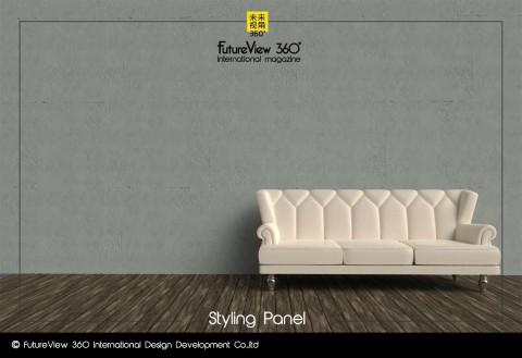 Curtain panel FV360_07 造型平板