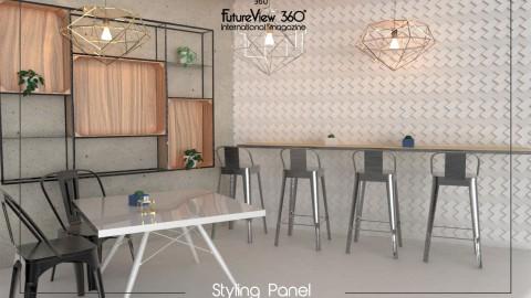 Curtain panel FV360_08 造型平板