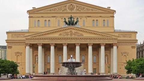 Bolshoi Theatre 莫斯科大劇院