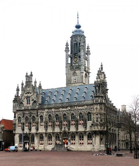 The city hall of Middelburg 米德爾堡市政廳