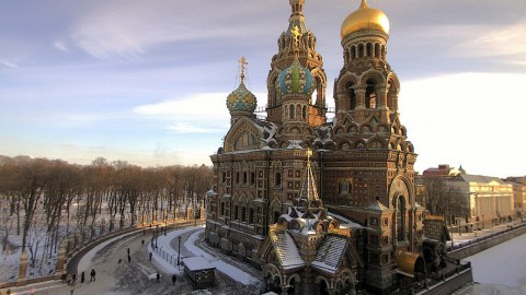 Church of the Savior on Blood 滴血救世主教堂