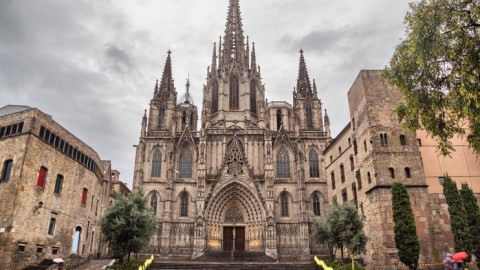 Cathedral of Barcelona 巴塞容納大教堂