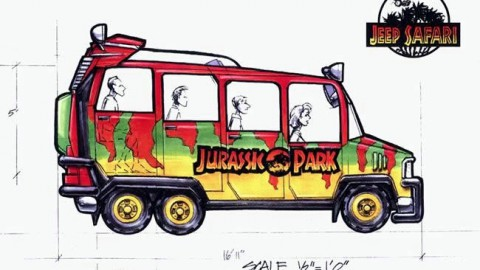 Islands of Adventure : The Jurassic Park Jeep Safari Ride That Never Was 冒險島:從未有過的侏羅紀公園吉普野生動物園騎行