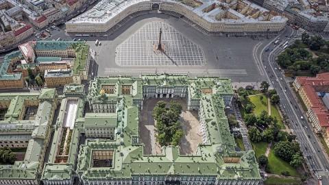 Palace Square, Saint Petersburg. 宮殿廣場,聖彼得堡。