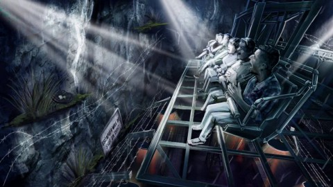 "San Francisco Dungeon Theme Park brand new ""Escape from Alcatraz Island"" 舊金山地牢主題公園全新""逃離惡魔島"""