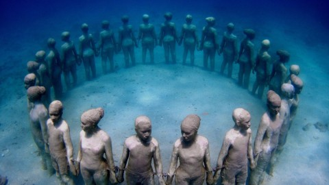 Molinere Underwater Sculpture Park 莫林雷爾水下雕塑公園