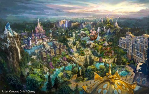 D&M Exclusive Pictures : Tokyo DisneySea Expansion Construction Site Update D&M獨家圖片:東京迪士尼海洋擴建工程更新