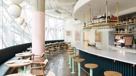 Willmott's Ghost restaurant opens inside Amazon Spheres in Seattle Willmott的Ghost餐廳在西雅圖的Amazon Spheres內開業