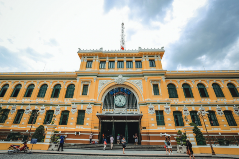 Saigon Central Post Office 西貢中央郵局