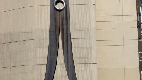 The Clothespin sculpture