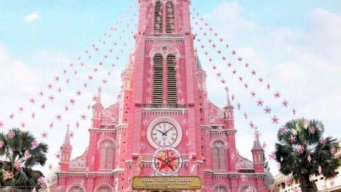 Sacred Heart of Jesus (Ho Chi Minh City) 耶穌聖心堂 (胡志明市)