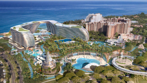 Bad News at The Horizon for Disney's Aulani Resort in Hawaii as an Atlantis Resort Will Be Built Right Next Door 地平線上的壞消息迪士尼奧拉尼度假村在夏威夷作為亞特蘭蒂斯度假村將建在隔壁