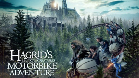FIRST-EVER LOOK AT CREATURES INSIDE HAGRID'S MAGICAL CREATURES MOTORBIKE ADVENTURE 第一次看到哈格里奇的魔術創作中的創作摩托車冒險