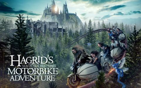 FIRST-EVER LOOK AT CREATURES INSIDE HAGRID'S MAGICAL CREATURES MOTORBIKE ADVENTURE 第一次看到哈格里奇的魔術創作中的創作摩托車冒險