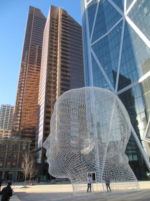 Wonderland Head sculpture 仙境頭雕塑