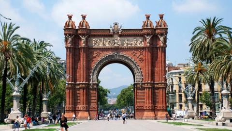 Arc de Triomf 凱旋門