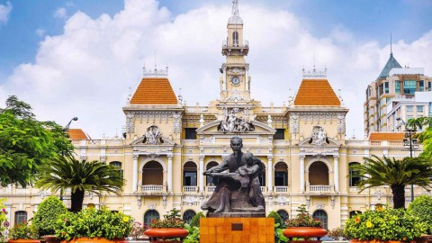 Saigon City Hall 西貢市政廳